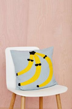 Aelfie Go Bananas Pillow -