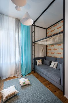 Shhh apartment designed by SVOYA STUDIO
