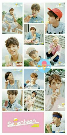 Seventeen Very Nice lockscreen
