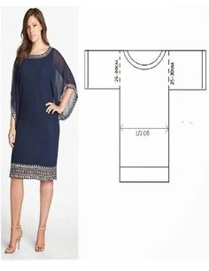 64 trendy sewing clothes plus size free pattern Plus Size Patterns, Sewing Patterns Free, Sewing Tutorials, Clothing Patterns, Dress Patterns, Free Pattern, Pattern Dress, Fashion Patterns, Simple Pattern
