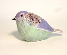 pottery bird sculpture par ecorock sur Etsy