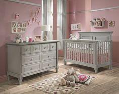 Nice Babyzimmer rosa Wand Kanten Laminat Boden
