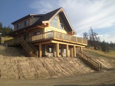 Post and Beam log homes are one of Artisan Log Homes most popular log home style to design and build. View our custom log homes here! Timber Frame Home Plans, Log Home Plans, Timber Frame Homes, Luxury Modern Homes, Luxury Homes Dream Houses, Dream Homes, Cabin Homes, Log Homes, Log Cabin Getaways