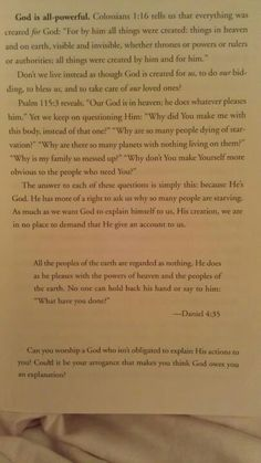 Francis Chan, in the book, Crazy Love