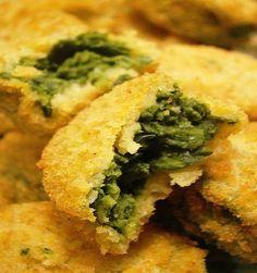 Crocchette facili di spinaci, antipasti per il pranzo di Natale