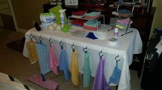 Need display ideas to showcase your Norwex products? Thanks to Consultant Sarah Andrews for this great display idea!