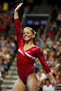 She's the ultimate all American athlete.  I just love her.  #shawnjohnson #shawn #johnson #olympics #gymnastics #beijing #london #2012