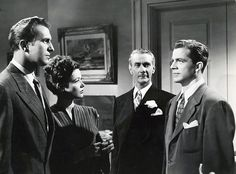 Vincent Price, Gene Tierney, Clifton Webb and Dana Andrews by Vintage-Stars, via Flickr