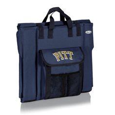 Stadium Seat - Navy (University of Pittsburgh - Panthers) Digital Print