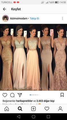 69 Trendy dress largos graduacion dorado - Best My deas Cute Prom Dresses, Gala Dresses, Beautiful Prom Dresses, Trendy Dresses, Dance Dresses, Elegant Dresses, Homecoming Dresses, Evening Dresses, Fashion Dresses
