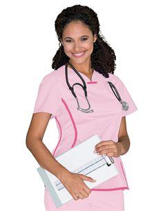 Sprint Tunic #9557    #scrubs #UrbaneScrubs #nurse #nursing #nurses #health #healthcare #breastcancer #awareness @UrbaneScrubs