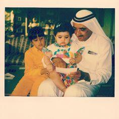 Lateefa bint Maktoum bin Rashid Al Maktoum, Latifa bint Mohammed bin Rashid Al Maktoum y Maktoum bin Rashid bin Saeed Al Maktoum. Vía: lateefam