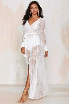 Nasty Gal One and Only Lace Maxi Dress | Shop Clothes at Nasty Gal!