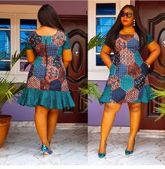 Finding the best glamorous Ankara designs is not usually easy. And people are finding it difficult to get the best Ankara designs of their choice. Short African Dresses, Latest African Fashion Dresses, African Print Dresses, African Print Fashion, Africa Fashion, Ankara Fashion, Moda Afro, Shweshwe Dresses, African Traditional Dresses