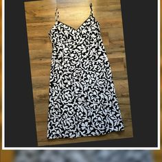 """Ann Taylor LOFT Dress Ann Taylor LOFT   Fully Lined with hidden side zipper   Size 4P measurements are *15""""Breast band width     *armpit to armpit is 16 1/2""""       *36"""" from top of spaghetti strap to bottom  This is New with tags Ann Taylor Dresses"""