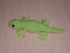 Ravelry: Gecko pattern by Ellie Skene