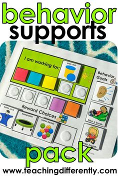 Positive Reinforcement Pack Positive reinforcement visuals and behavior systems (including token boards, first/then boards, work choices boards, and so much more) in 11 different colors so that you can color-code your autism or special education classroom Special Education Behavior, Classroom Behavior, Autism Classroom, Preschool Classroom, Special Education Activities, Preschool Schedule, Kindergarten Special Education, Kids Education, Education Quotes