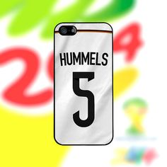 Mats Hummels Deutschland-Fall: iPhone 4/4 s 5/5 von PhoneJerseys
