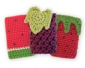 Fruit iPod cozies - I have a 30g video ipod. Can be knit or crochet. I would LOVE a pineapple if possible.