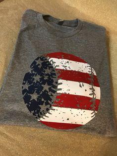 Flag Baseball Shirt, of July Baseball, XOXO Baseball Tee, Love Baseball Baseball Mom Shirts, Mom Of Boys Shirt, Baseball Bases, Softball Mom, Baseball Cleats, Sports Shirts, Baseball Stuff, Baseball Field, Baseball Hat