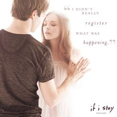 Love will do that to you. | If I Stay