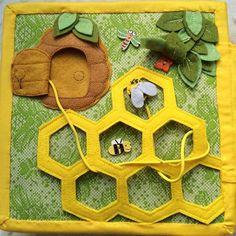 Quiet book - beehive