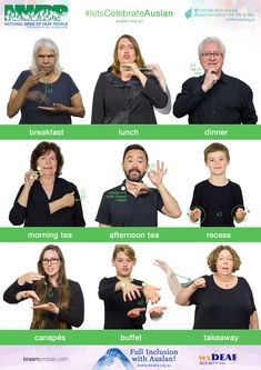 NWDP is an annual celebratory event in the Deaf Community, celebrating Auslan and the culture of Deaf people. #signlanguageposter