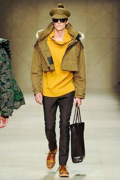 Saturday at Milan Fashion Week PV2012. Burberry Prorsum.