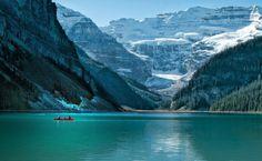Lake Louise by Barbara Motter