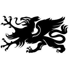 Wappen Rostock Greif-Hansestadt,Heraldik,Ostsee,Rostock,Wappen,greif,warnemünde-Der Rostocker Greif ist das historische Wappentier der Hansestadt. Silhouette Cameo, Tattoos, Business, Animals, Shopping, Crests, Baltic Sea, Viajes, Pictures