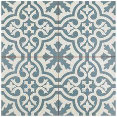 SomerTile 17.625x17.625-inch Tudor Floor and Wall Tile