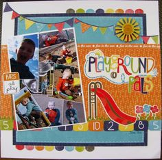 echo park playground scrapbook layouts - Google Search