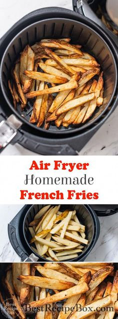 Quick Homemade Air Fryer Crispy French Fries Air Fryer Homemade Air Fried French Fries Recipe Best Recipe Box The post Quick Homemade Air Fryer Crispy French Fries appeared first on Rezepte. Air Fry French Fries, Crispy French Fries, French Fries Recipe, Best Fries Recipe, Best Recipe Box, Air Fryer Oven Recipes, Air Frier Recipes, Air Fryer Dinner Recipes, Air Fryer Recipes Potatoes
