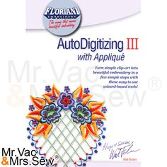 Floriani AutoDigitizing III with Applique , Floriani Embroidery Software , Embroidery Machines - Mrv