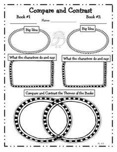 Owl Themed Common Core Reading Literature Graphic Organize $