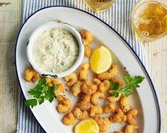 Crayfish 'scampi' with tartare sauce recipe