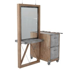 Alaskan Fairbanks Styling Station | http://novvoetopa.com/products/search?section=Products   #hairsalon #stylingstation