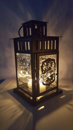 MEDIUM Harry Potter Inspired Hogwarts Hufflepuff House Lantern, Froste – Storybook Craft Co.