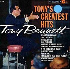 Tony's Greatest Hits - Tony Bennett, LP (Pre-Owned)