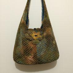 Chenille winter bag