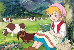 """牧場の少女カトリ ・ """"Katri, Girl of the Meadows"""" ・ 1984 ・ (Adapted from the Finnish novel, """"Paimen, piika ja emäntä"""" , the author is Auni Nuolivaara.)"""