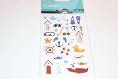 Sticker - Sticker  Cooky  am Meer - ein Designerstück von madonner bei DaWanda