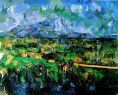 Paul Cezanne >> Mont Sainte-Victoire