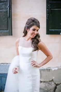 Classic Downtown Charleston Bridal Portrait Session // Dana Cubbage Weddings // Charleston SC Wedding Photography