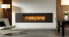 Studio Steel 2 Gas Fires - Gazco Fires