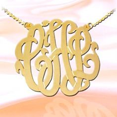 Monogram Necklace 2 inch 24K Gold Plated Sterling Silver Handcrafted Cutout Personalized Initial Necklace - Made in USA  http://electmejewellery.com/jewelry/necklaces/pendants/monogram-necklace-2-inch-24k-gold-plated-sterling-silver-handcrafted-cutout-personalized-initial-necklace-made-in-usa-com/
