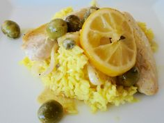 Mystery Lovers' Kitchen: Olive and Lemon Chicken