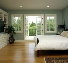 Love the wall color.  The Levine Group - traditional - bedroom - dc metro - The Levine Group Architects + Builders, Inc.