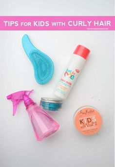 The best tips for kids with curly or wavy hair!