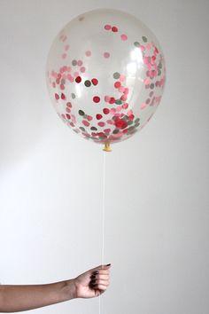 The Flair Exchange® - Confetti Filled Balloon - Poppy
